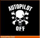 Autopilot Off Band T Shirts Autopilot Off T Shirt